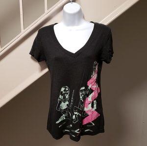 New Wave Spacegirl Medium Ladies T-Shirt
